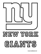New York Giants Coloring Pages Football Coloring Pages Coloring