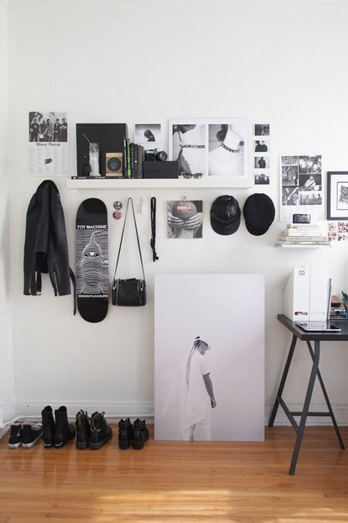 Grunge Minimalist Aesthetic Bedroom Decor Blog Wall Decor Dorm room this morning before french. grunge minimalist aesthetic bedroom