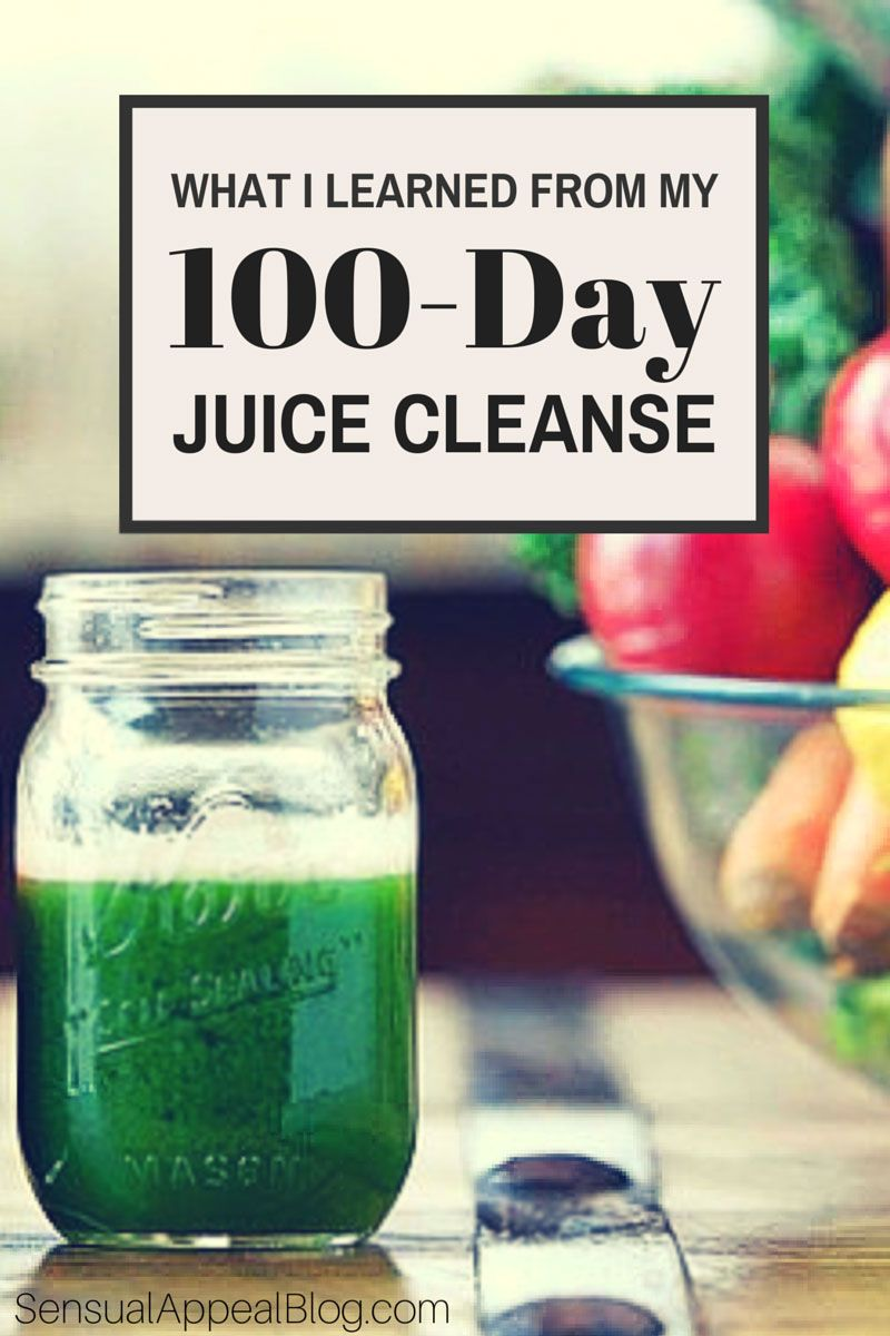 What I learned from my 100-day juice cleanse