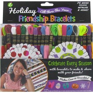 Hilos Iris Holiday Friendship Bracelet Kit Hobby Lobby