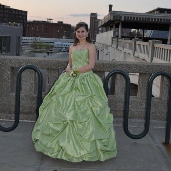Selling this Ball gown/ prom dress on Poshmark! My username is: cewcamp. #shopmycloset #poshmark #fashion #shopping #style #forsale #Dresses & Skirts