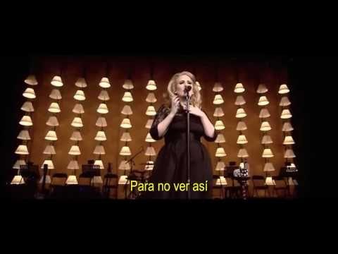Adele I Can T Make You Love Me Live R A H Subtitulada Adele