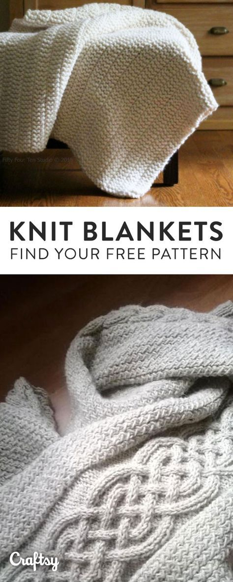 Our Favorite Knit Blanket Throw And Afghan Patterns To Keep You