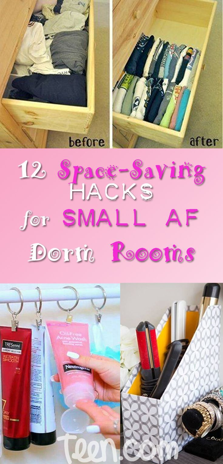 Let S Face It No Matter How Nice A Dorm Room Is They Re Always Seriously Tiny Which Means You Have To Come Dorm Room Organization College Room Dorm Storage