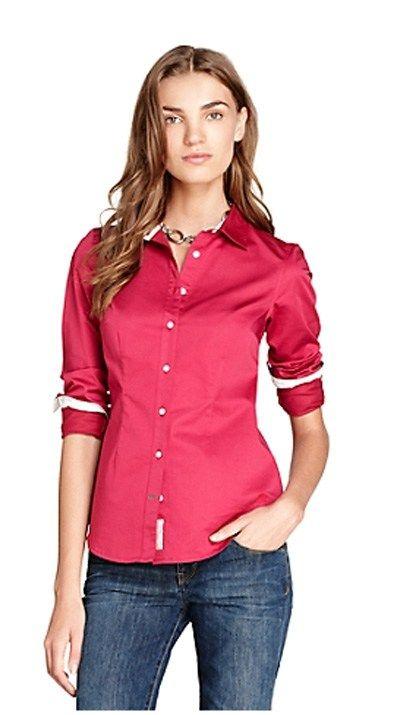 fc6c5b2485335 Camisa Social Feminina