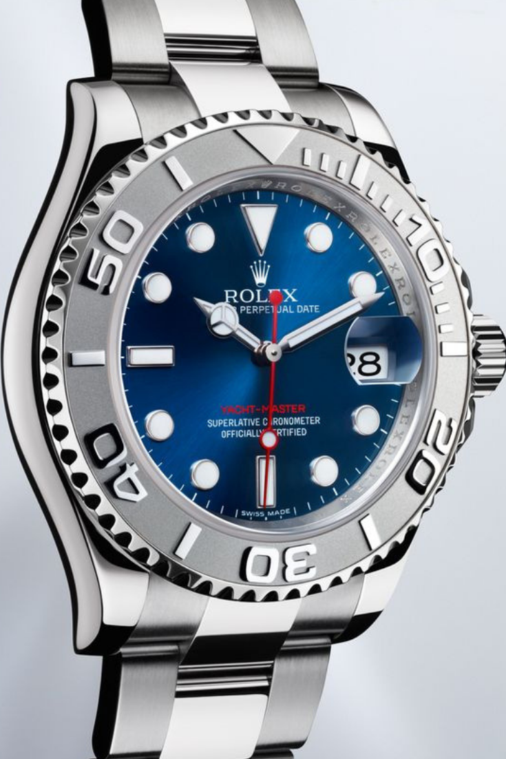 Automatic Movement It Has A Sapphire Crystal Compare Rolex Oyster Perpetual Yacht Master Watch Functi Rolex Watches Rolex Yacht Master Rolex Oyster Perpetual