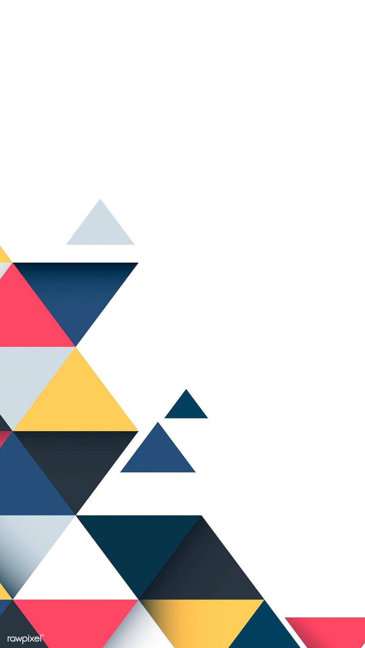 Download Premium Vector Of Abstract Multicolor Geometric Background Vector Geometric Background Geometric Graphic Design Poster Background Design