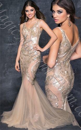 blush long dress - ?? maybe