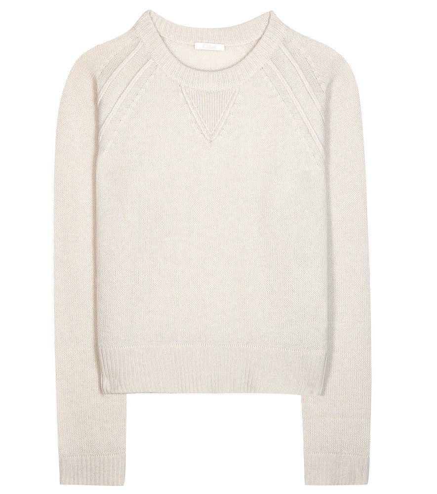 Chloé - Cashmere sweater - Chloé keeps things clean, chic and ...