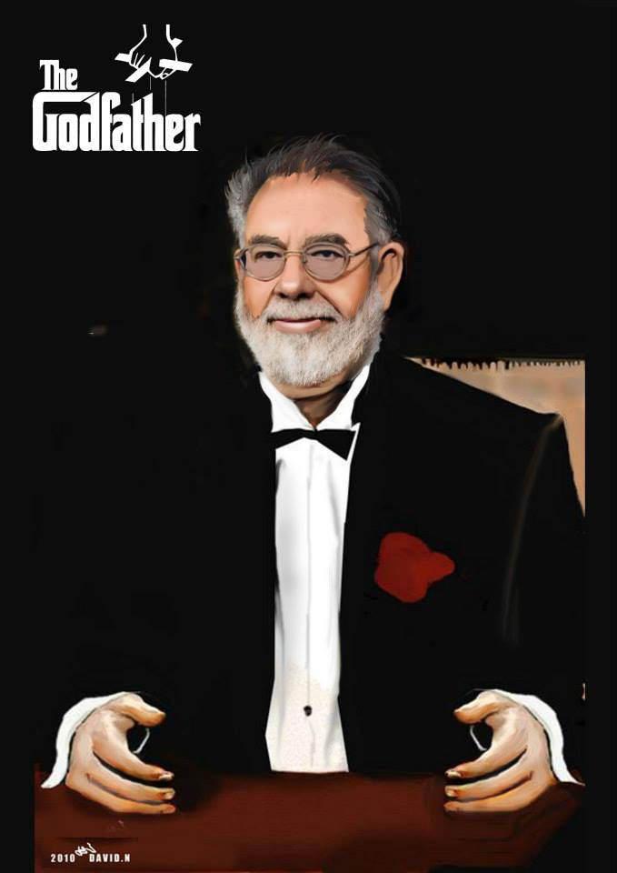 Francis Ford Coppola The Godfather Dracula Hyper Realistic Drawing 100x80 Realistic Drawings Hyper Realistic Paintings Realistic Paintings