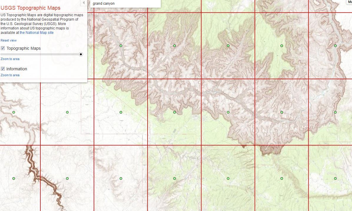 USGS Topographic Maps Google Maps Gallery Switch Between - Google maps topographic view