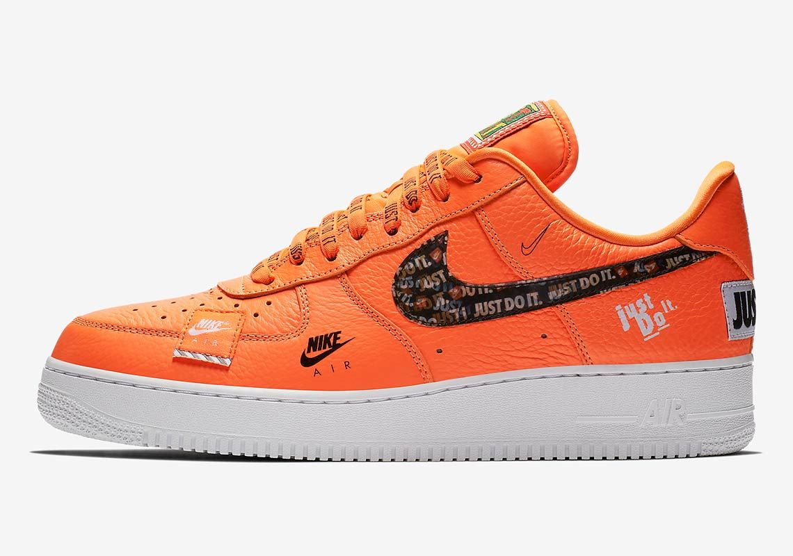 08b1b2836e Best Look Yet At The Nike Air Force 1 Low Just Do It | Footwear in ...