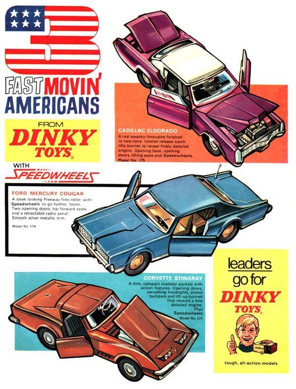 Toy Car Ad Vintage Toy Ads Vintage Toys Toys Corgi Toys