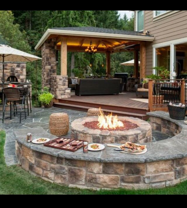 Awesome Backyard awesome backyard for parties just needs a pool! | garden