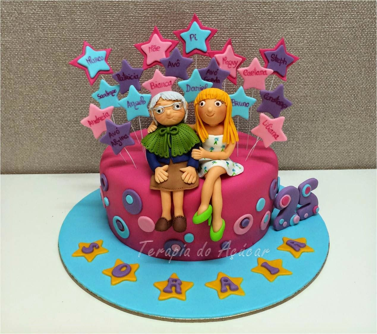 Stars and Bubbles Cake