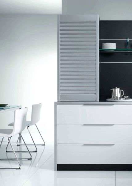 Kitchen Roller Shutter | Roller shutters, Kitchen cabinet ...
