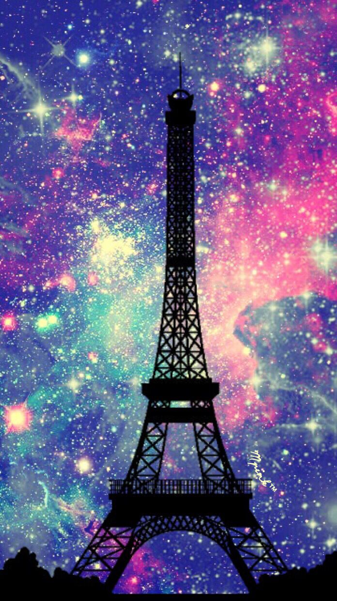 Eiffel Tower At Midnight Iphone Android Wallpaper I Created For The