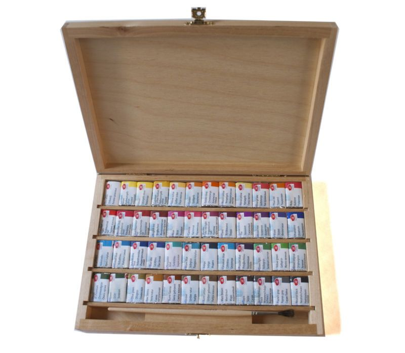 Details About 48 Watercolor Paint Set White Nights Extra Fine