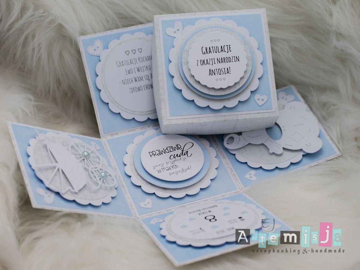 Gratulacje Z Okazji Narodzin Dziecka Artemisja Eunika Jedynak Congratulations For Child Birth Kartka Scrapbooking Diy Handmadeca Crafters Polish Coasters