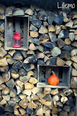 Holz weinkisten wood herbst k rbis pumpkin haus for Dekoelemente garten