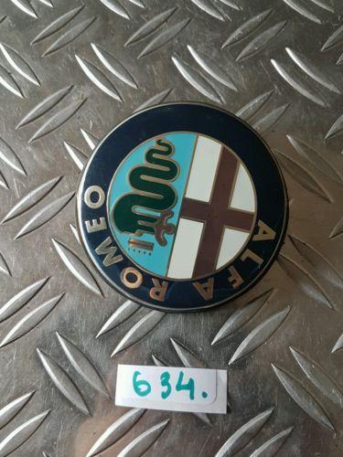 Alfa Romeo 156 147 Car Logo Rear Boot Emblem Badge 74 Mm View