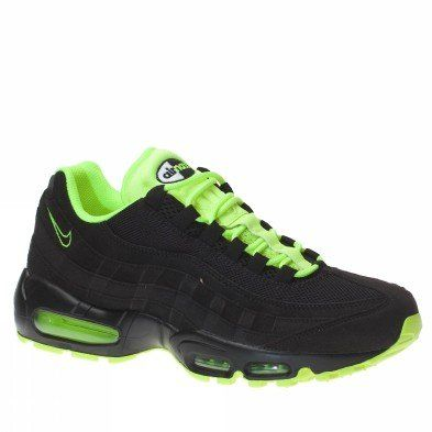 On Sale Online Mens Nike Air Max 95 Saphire Green Shoes