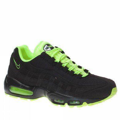 new concept fcbf5 84faa Amazon.com: Nike Air Max 95 Mens Running Shoes Black/Black ...