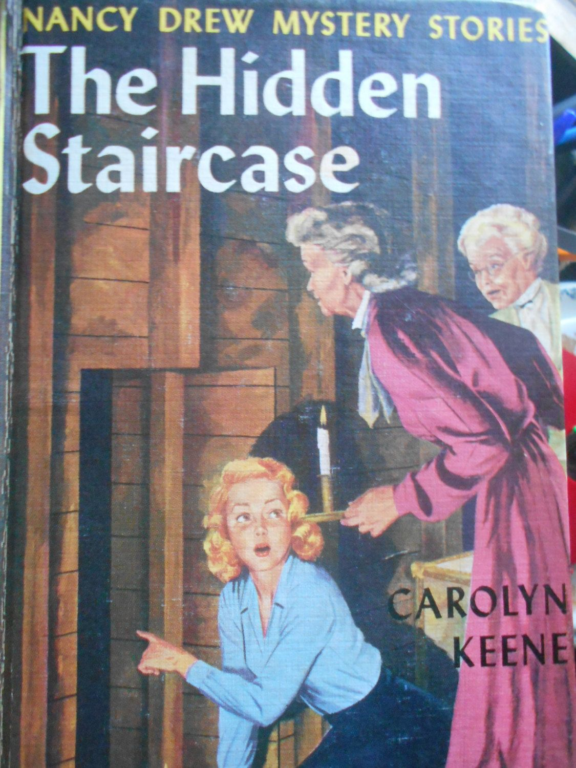 The Hidden Staircase Nancy Drew Mystery Story. Book 2. Carolyn Keene.  Hardcover 1959. By MarginaliaBooks On Etsy