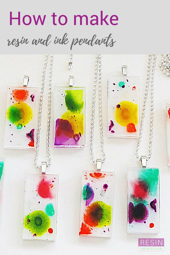 Resin and alcohol inks - Resin jewelry diy, Epoxy resin crafts, How to make resin, Alcohol ink crafts, Diy resin casting, Resin jewelry making - How to use resin and alcohol inks  Learn how to create unique and artistic pendants using layers of resin and drops of alcohol inks  Links to supplies used