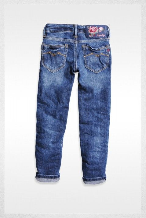 Denim trouser - Skinny Fit denim | Jeans | Girl | FW12 | Replay & Sons | REPLAY Online Shop