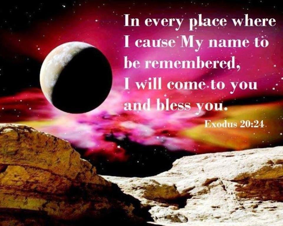 Exodus 20 24 Book Of Exodus Christian Facebook Cover Biblical