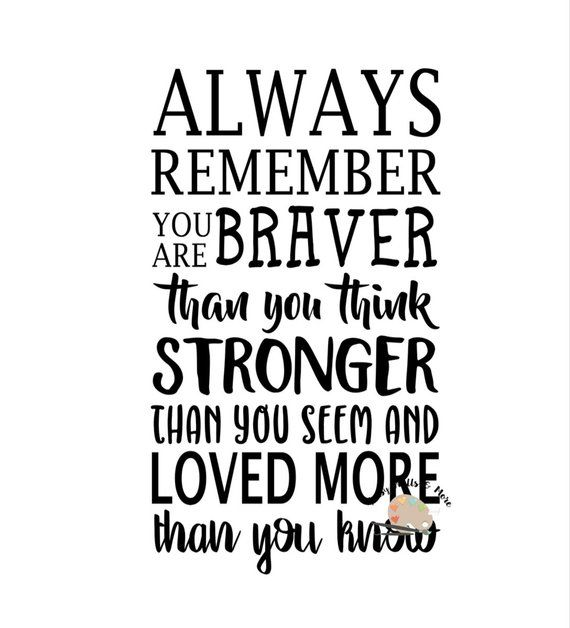 Download Always remember you are braver svg Winnie the Pooh Quote ...