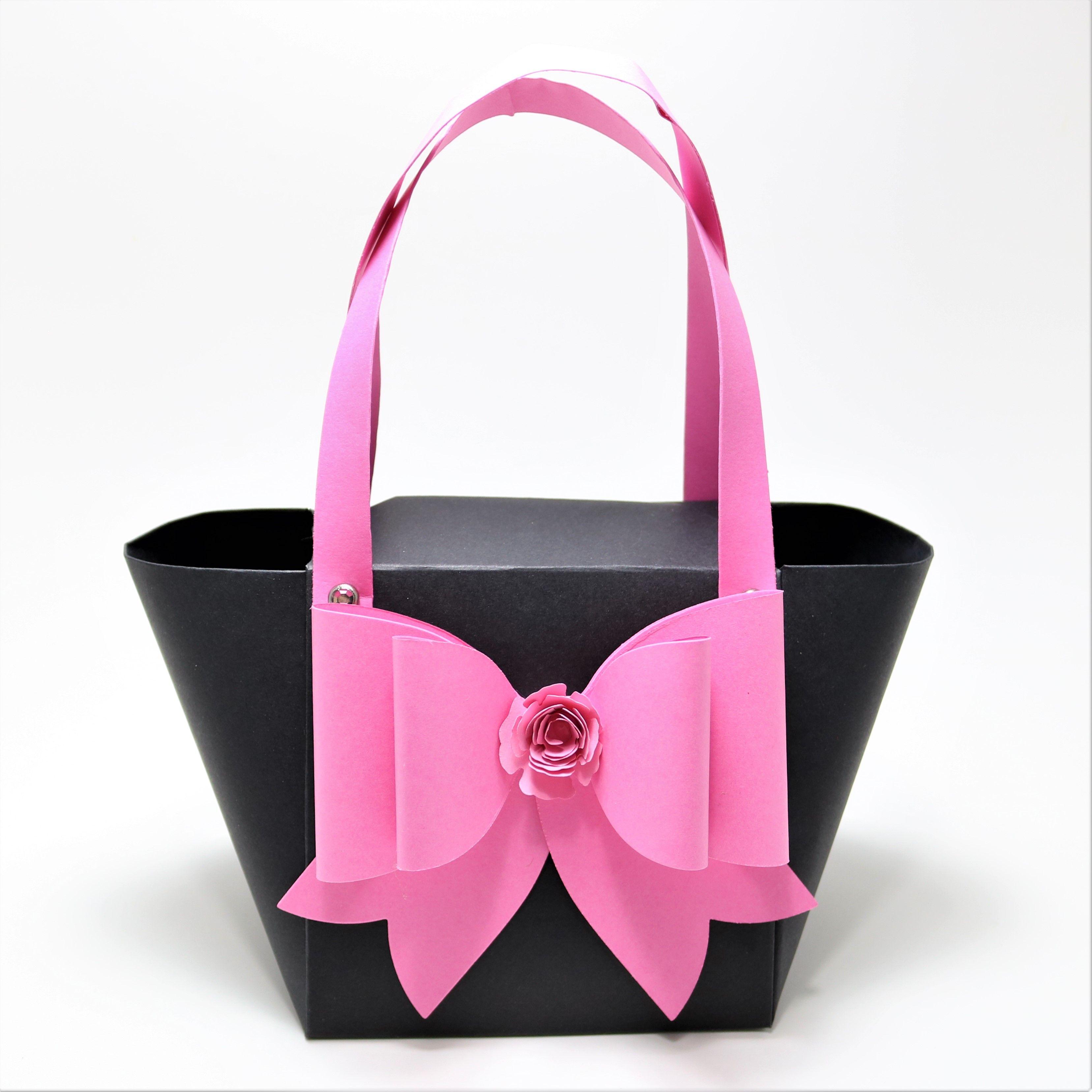 Shoulder Favor BagParty mini Gift Bow Pink NagMini Tote Bag Bag XuOiwTPkZ