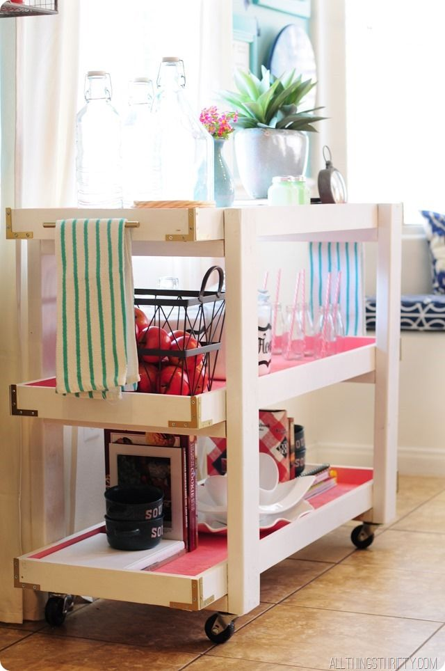 Ana White | Build a Smaller Rolling Cart for Home Depot DIH Workshop | Free and Easy DIY Project and Furniture Plans