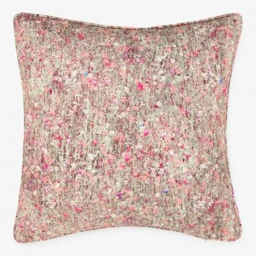 Liberty Floral Meadow Cotton Pillow