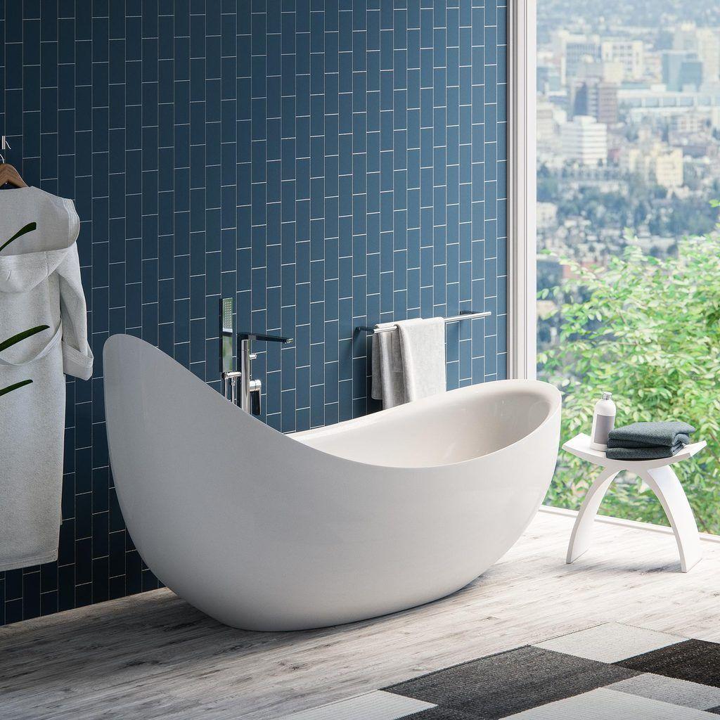 79 Hialeah Freestanding Bathtub Free Standing Bath Tub Bathroom Interior Bathroom Inspiration Free standing bathtubs for sale