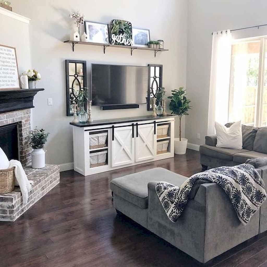 Photo of 85 Beautiful Farmhouse Living Room Curtains Decor Ideas