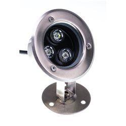 Faretto a LED 3W con staffa orientabile