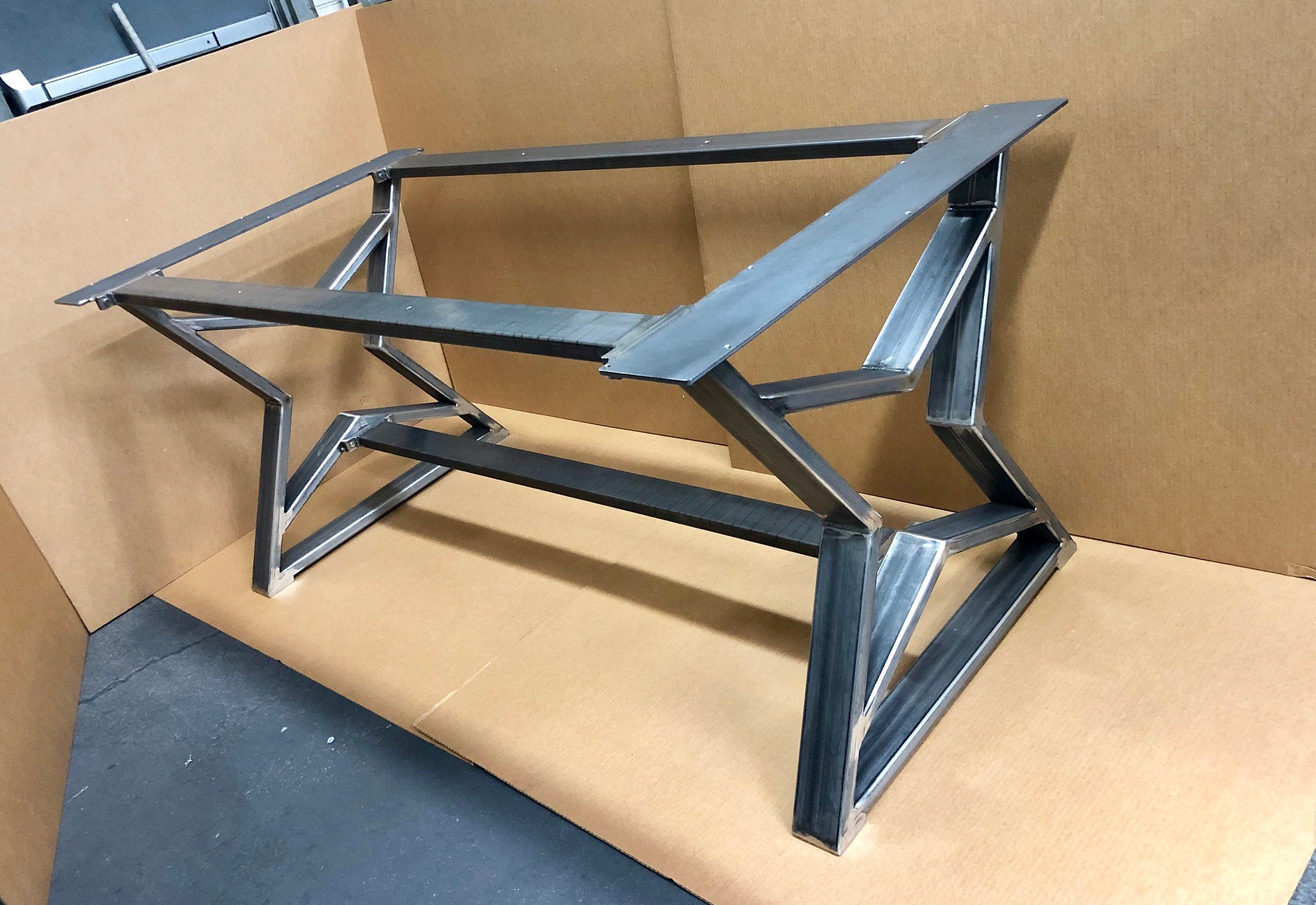 The Stars Design Dining Table Base Sturdy Heavy Duty Steel Etsy