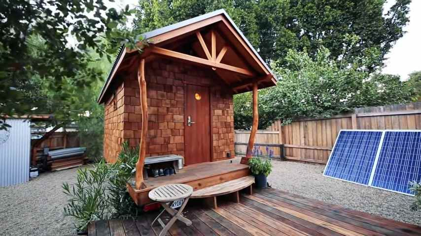 The Acorn Tiny House By Humble Handcraft In 2020 Tiny House House Small House