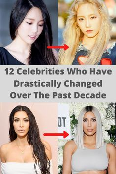Photo of 12 CELEBRITIES WHO HAVE DRASTICALLY CHANGED OVER THE PAST DECADE