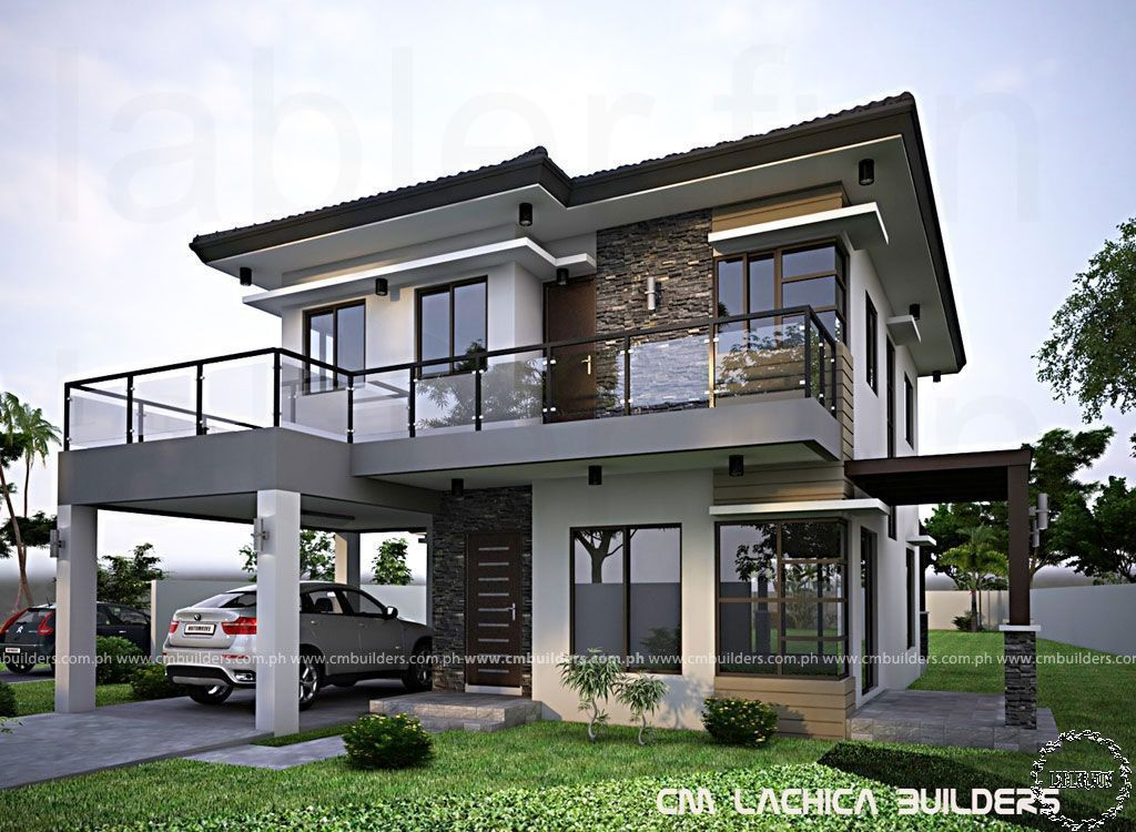 Modern House Design Luxury House Design Exterior Philippines 2 Storey Modern Ho Modern Hou Zen House Design Philippines House Design Modern House Design