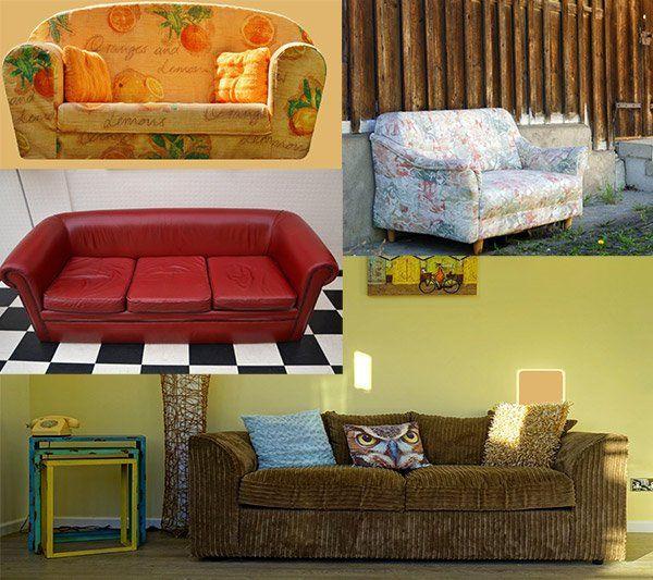 Netgeflixte Evolutionsstufe Im Wohnzimmer Led Sofa Mit Soundsystem