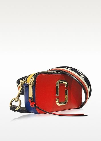 fde4b531f3 Marc Jacobs Snapshot Red Pepper Saffiano Leather Small Camera Bag ...
