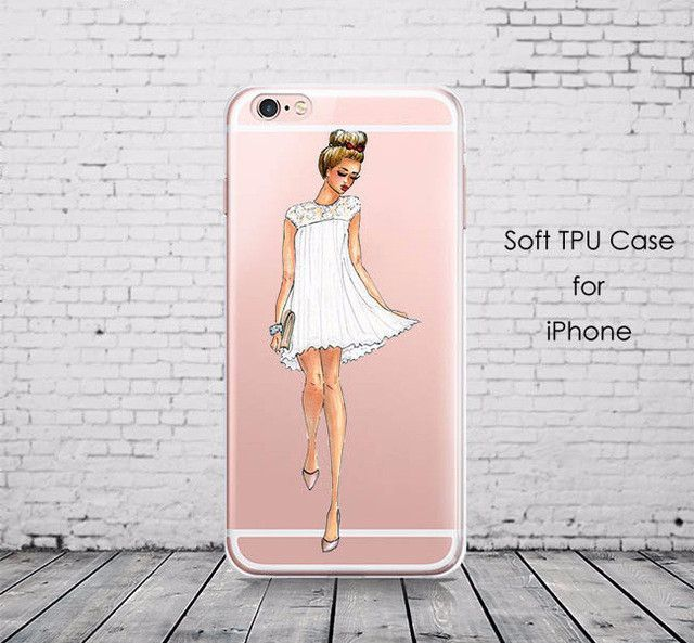 Trendy Transparent Soft Silicone Cases For iPhone 5 5S SE 6 6S Plus 7 Plus