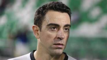 Xavi Hernández, tras un partido disputado con el Al Sadd