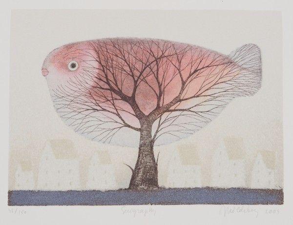 """""""Luonnonsuojelija"""" by Finnish artist Mildebergius (2005)."""