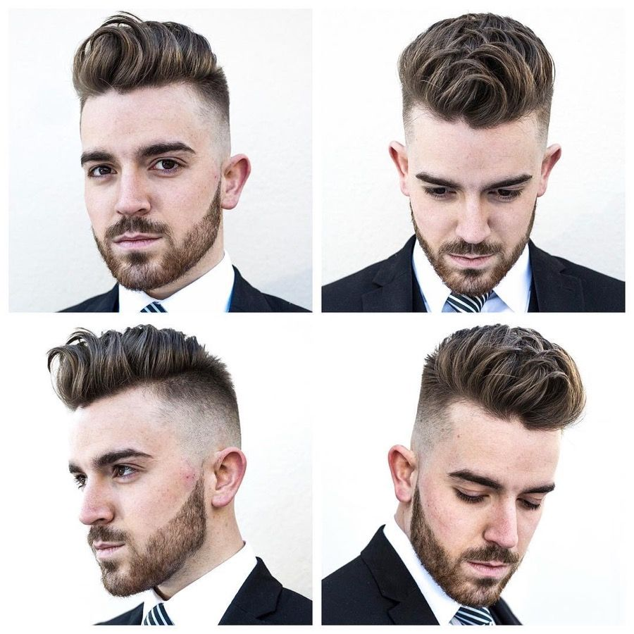 This curated selection of good haircuts for men includes some classics trends and combinations of the two weve got side part hairstyles comb overs