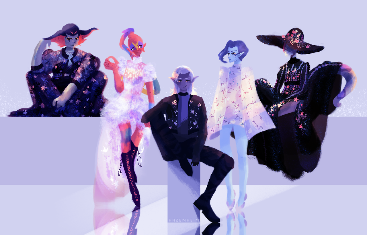 Lotor's Generals x Ralph & Russo Is it just me or does the