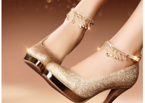 Zapatos para vestido largo de fiesta